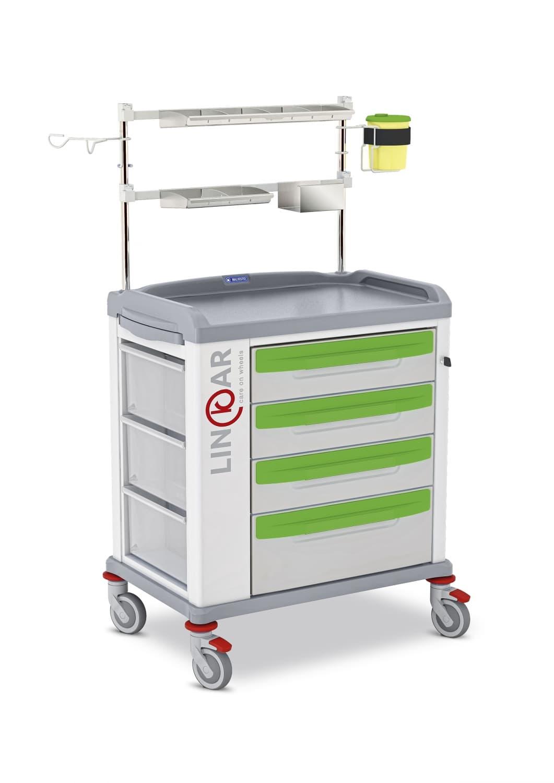 Медицинская тележка для анестезии/интенсивной терапии LINCAR